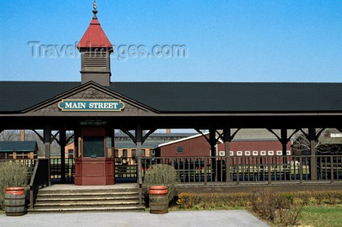 US_CITIES_18-20 RAILWAY STATION in GREENFIELD VILLAGE outside of