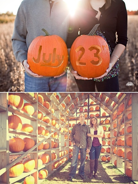 fall save the date ideas